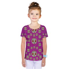 Ladybug In The Forest Of Fantasy Kids  One Piece Tee