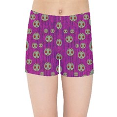 Ladybug In The Forest Of Fantasy Kids Sports Shorts