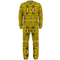 Stars And Flowers In The Forest Of Paradise Love Popart OnePiece Jumpsuit (Men)
