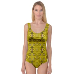 Stars And Flowers In The Forest Of Paradise Love Popart Princess Tank Leotard