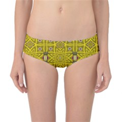 Stars And Flowers In The Forest Of Paradise Love Popart Classic Bikini Bottoms