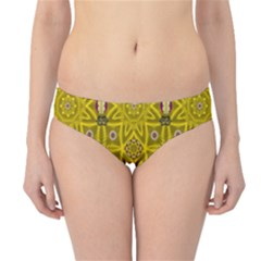 Stars And Flowers In The Forest Of Paradise Love Popart Hipster Bikini Bottoms