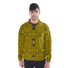 Stars And Flowers In The Forest Of Paradise Love Popart Wind Breaker (Men)