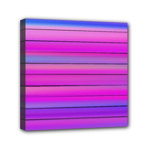 Cool Abstract Lines Mini Canvas 6  x 6