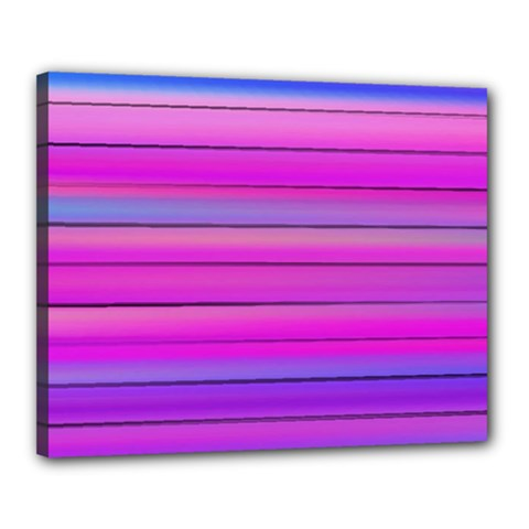 Cool Abstract Lines Canvas 20  x 16