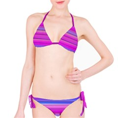 Cool Abstract Lines Bikini Set