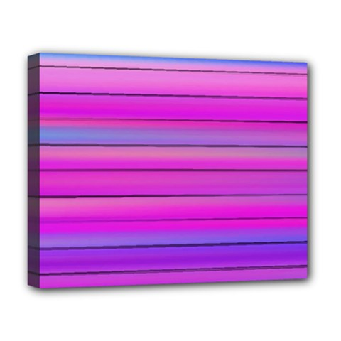 Cool Abstract Lines Deluxe Canvas 20  X 16