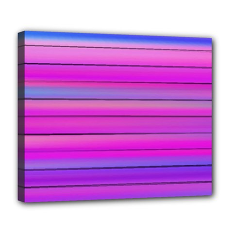 Cool Abstract Lines Deluxe Canvas 24  X 20