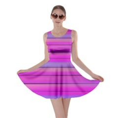 Cool Abstract Lines Skater Dress
