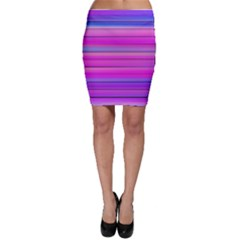 Cool Abstract Lines Bodycon Skirt