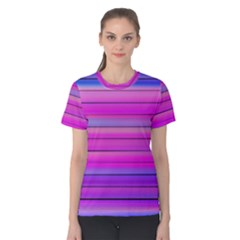 Cool Abstract Lines Women s Cotton Tee