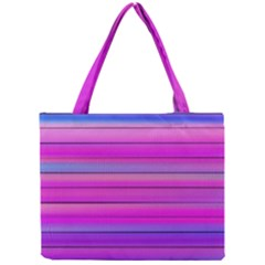 Cool Abstract Lines Mini Tote Bag