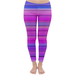 Cool Abstract Lines Classic Winter Leggings