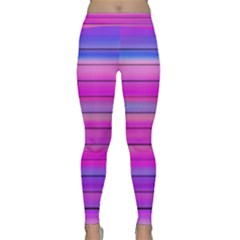 Cool Abstract Lines Classic Yoga Leggings