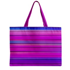 Cool Abstract Lines Zipper Mini Tote Bag