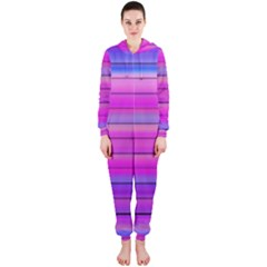 Cool Abstract Lines Hooded Jumpsuit (ladies)