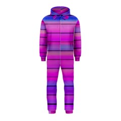 Cool Abstract Lines Hooded Jumpsuit (Kids)