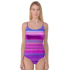 Cool Abstract Lines Camisole Leotard