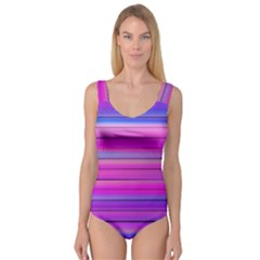 Cool Abstract Lines Princess Tank Leotard