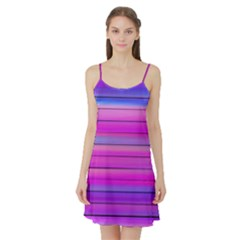 Cool Abstract Lines Satin Night Slip