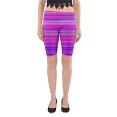 Cool Abstract Lines Yoga Cropped Leggings
