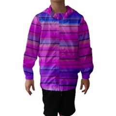 Cool Abstract Lines Hooded Wind Breaker (Kids)