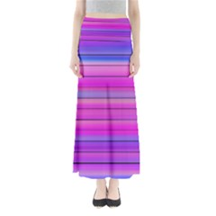 Cool Abstract Lines Full Length Maxi Skirt
