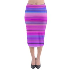 Cool Abstract Lines Midi Pencil Skirt
