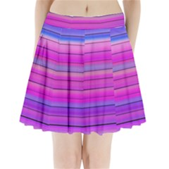 Cool Abstract Lines Pleated Mini Skirt