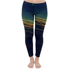 Night Lights Classic Winter Leggings