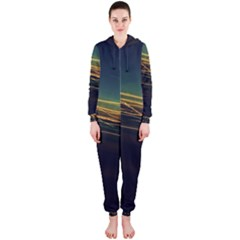 Night Lights Hooded Jumpsuit (ladies)