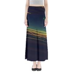 Night Lights Full Length Maxi Skirt