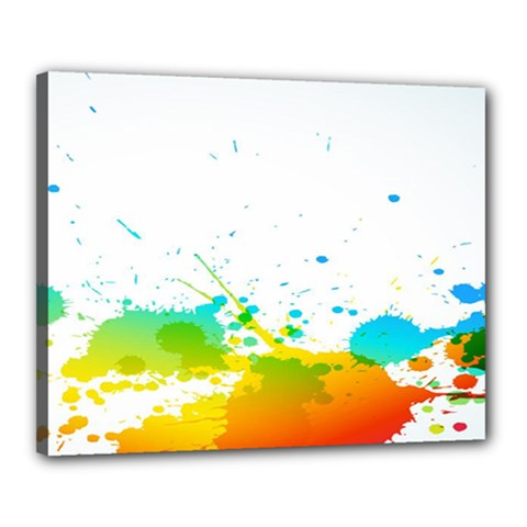 Colorful Abstract Canvas 20  x 16