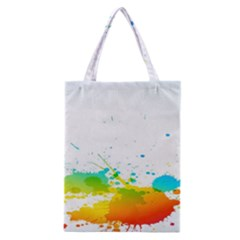 Colorful Abstract Classic Tote Bag