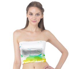 Colorful Abstract Tube Top