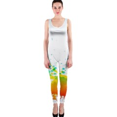 Colorful Abstract Onepiece Catsuit