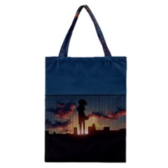 Art Sunset Anime Afternoon Classic Tote Bag