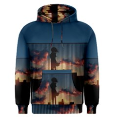 Art Sunset Anime Afternoon Men s Pullover Hoodie
