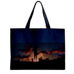 Art Sunset Anime Afternoon Zipper Mini Tote Bag