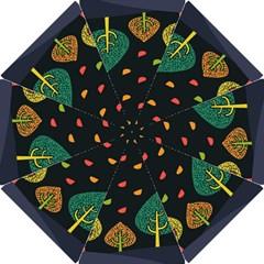 Vector Color Tree Hook Handle Umbrellas (Small)