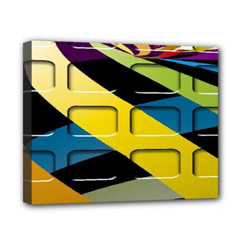 Colorful Docking Frame Canvas 10  x 8