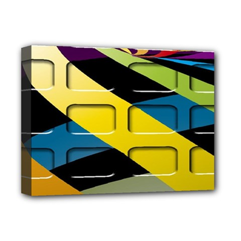Colorful Docking Frame Deluxe Canvas 16  X 12