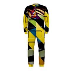 Colorful Docking Frame OnePiece Jumpsuit (Kids)