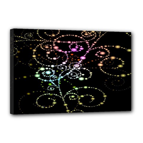 Sparkle Design Canvas 18  x 12