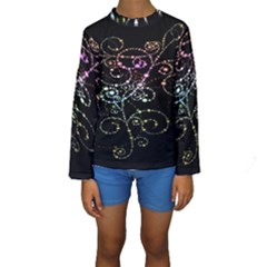 Sparkle Design Kids  Long Sleeve Swimwear