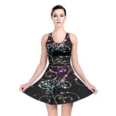 Sparkle Design Reversible Skater Dress