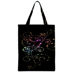 Sparkle Design Zipper Classic Tote Bag