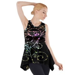 Sparkle Design Side Drop Tank Tunic