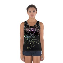 Sparkle Design Women s Sport Tank Top