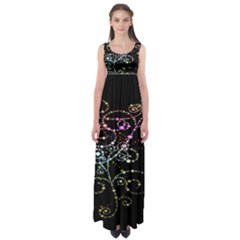 Sparkle Design Empire Waist Maxi Dress